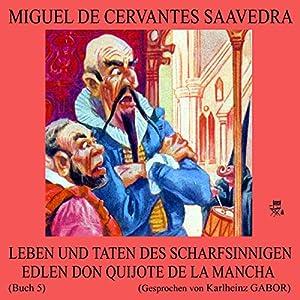 Leben und Taten des scharfsinnigen edlen Don Quijote de la Mancha (Buch 5) Hörbuch