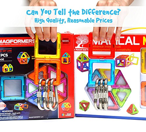 Building Toys For Teenage Boys : Magnetic tile building set large pieces with wheels