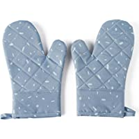 Home Professional Silicone Oven Mitts/Gloves - 1 Pair