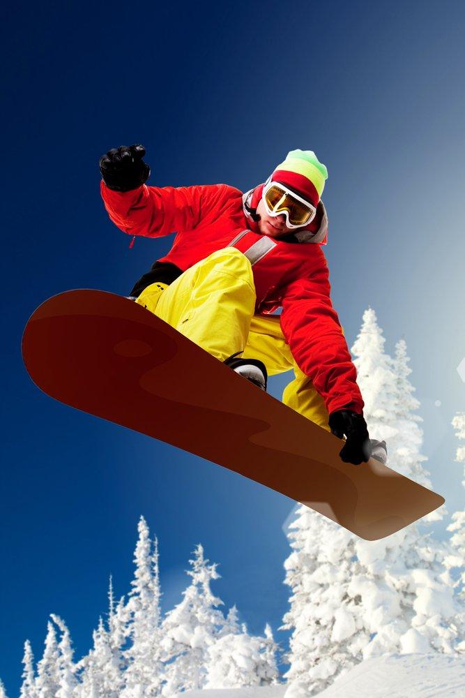 Snowboarder 36 x 54 Giclee Print LANT-47369-36x54 36 x 54 Giclee Print  B017E9ZSBK