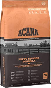 ACANA Dog Puppy & Junior Protein Rich, Real Meat, Grain-Free, Dry Dog Food