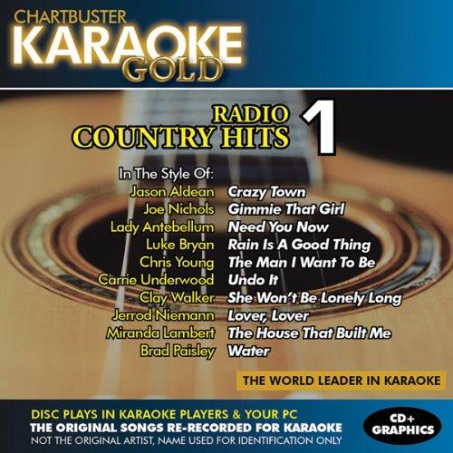 Karaoke Chartbuster Radio - Karaoke Gold: Radio Country Hits 1