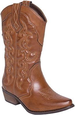 Lara's Womens Wide Calf Western Cowboy