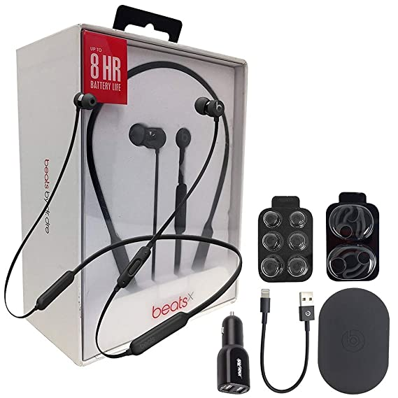 ed6c1be8526 Image Unavailable. Image not available for. Color: Beats by Dr. BeatsX  Wireless In-Ear Headphones - Black ...