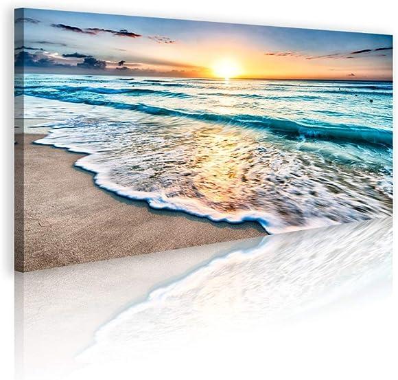 Duvez Large Beach Canvas Wall Art