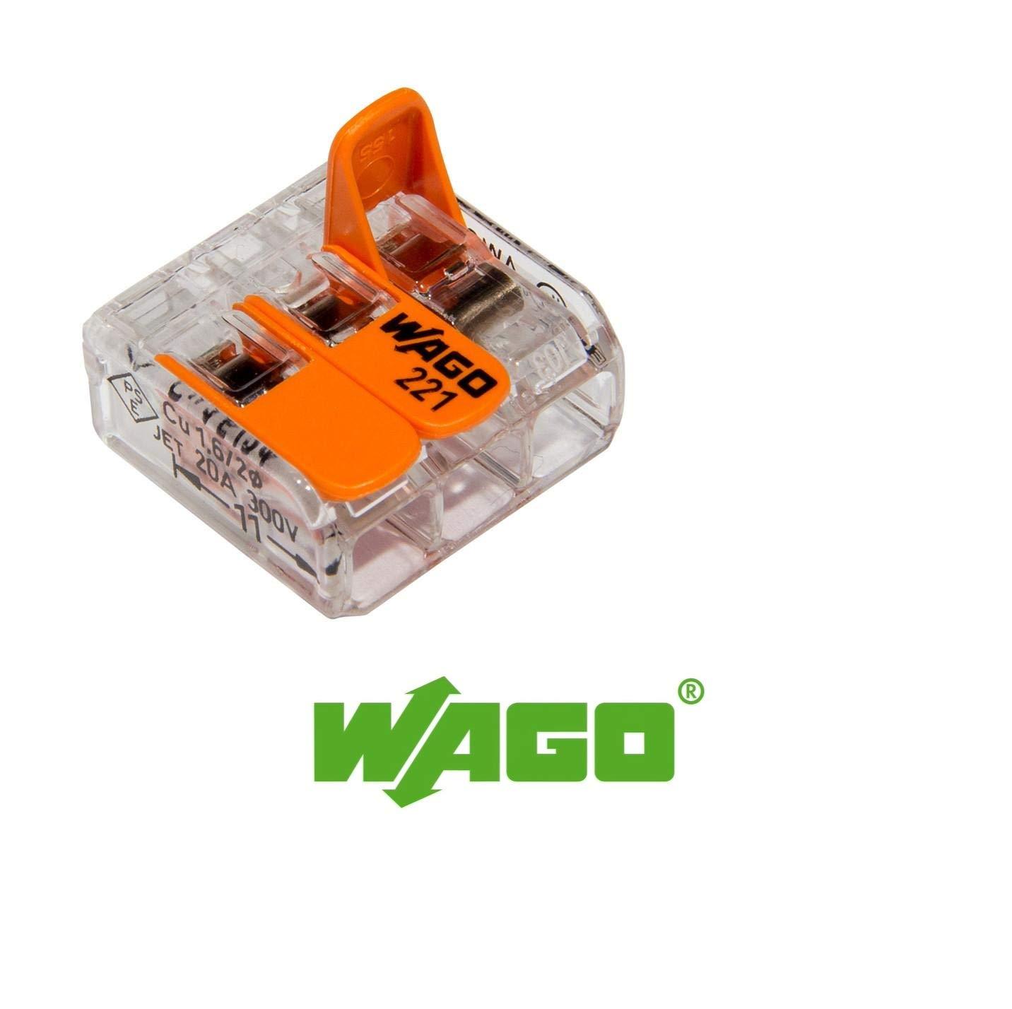 ahorra tiempo y costes con nuestros bloques y conectores de terminales de instalaci/ón por Gas N Pow3r/® serie 221 caja M L32 serie 222 Interconexiones el/éctricas WAGO/®
