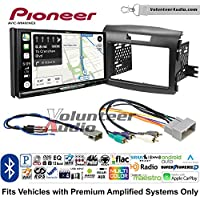 Volunteer Audio Pioneer AVIC-W8400NEX Double Din Radio Install Kit with Navigation, Apple CarPlay and Android Auto Fits 2012-2016 Honda CR-V