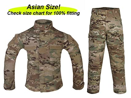 ATAIRSOFT Tactical Airsoft Kids Children BDU Hunting Combat Costume Uniform Shirt u0026 Pants Suit Multicam MC  sc 1 st  Amazon.com & Amazon.com: ATAIRSOFT Tactical Airsoft Kids Children BDU Hunting ...