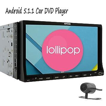 EinCar Pure Android 5.1 navegaci¨®n del GPS de 7 pulgadas Electr¨®