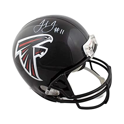 62512860 Amazon.com: Julio Jones Autographed Atlanta Falcons Full-Size ...