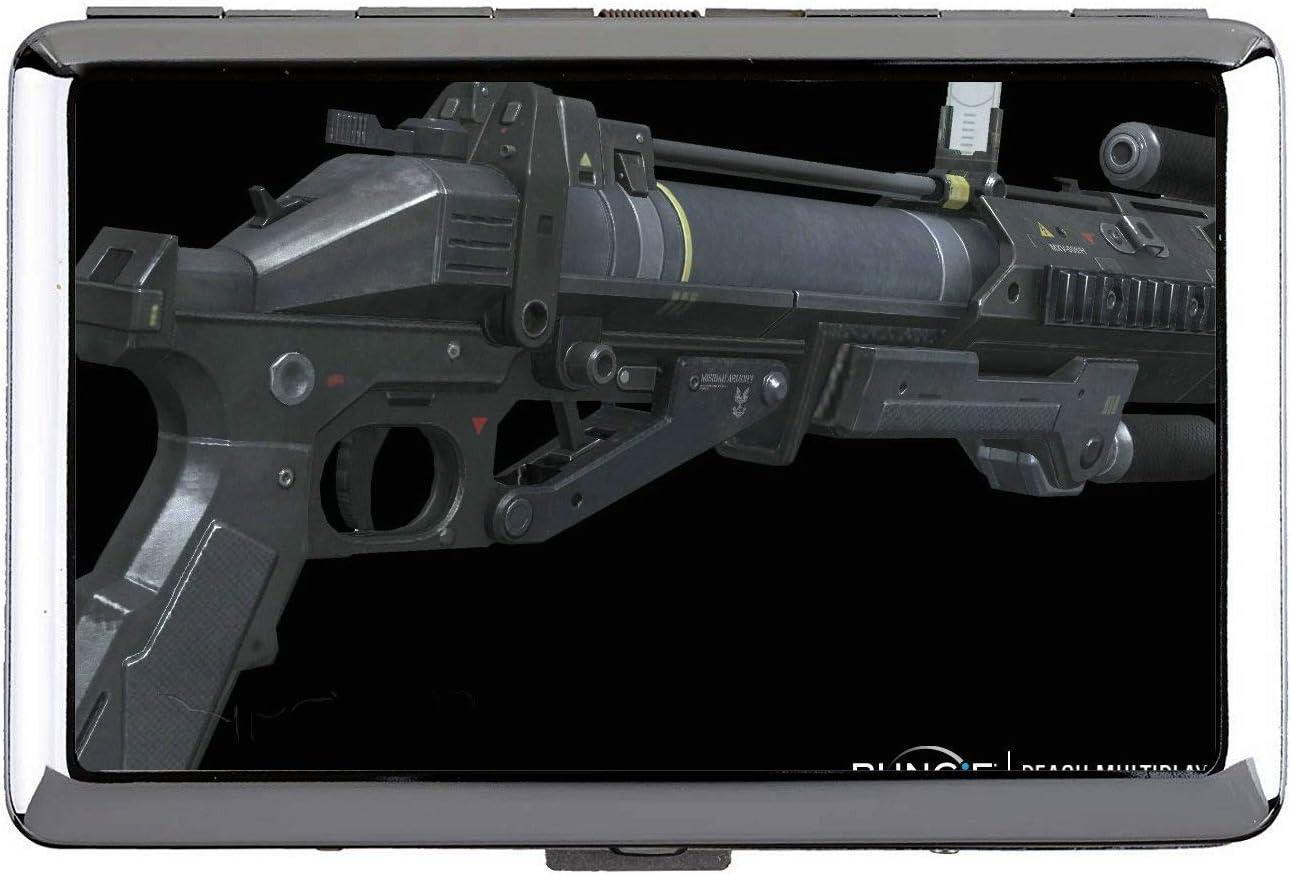 Cigarrillo, Estuche rígido y Soporte, Titular de la Tarjeta de Acero Inoxidable Gun Gun