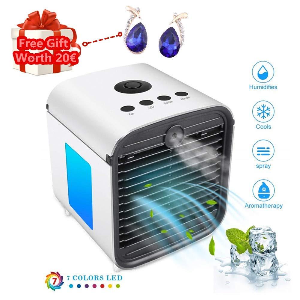 K/üChe /… Air Cooler Leakproof Luftk/üHler Mobile Klimager/äTe Klimaanlage Ventilator Cool Air Ventilator Hotel Luftbefeuchter und Luftreiniger f/ür B/üRo