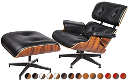 Amazon.com: MLF Premium Reproduction Charles Eames Lounge Chair ...