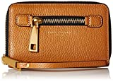 Marc Jacobs Gotham Zip Phone Wristlet, Maple Tan