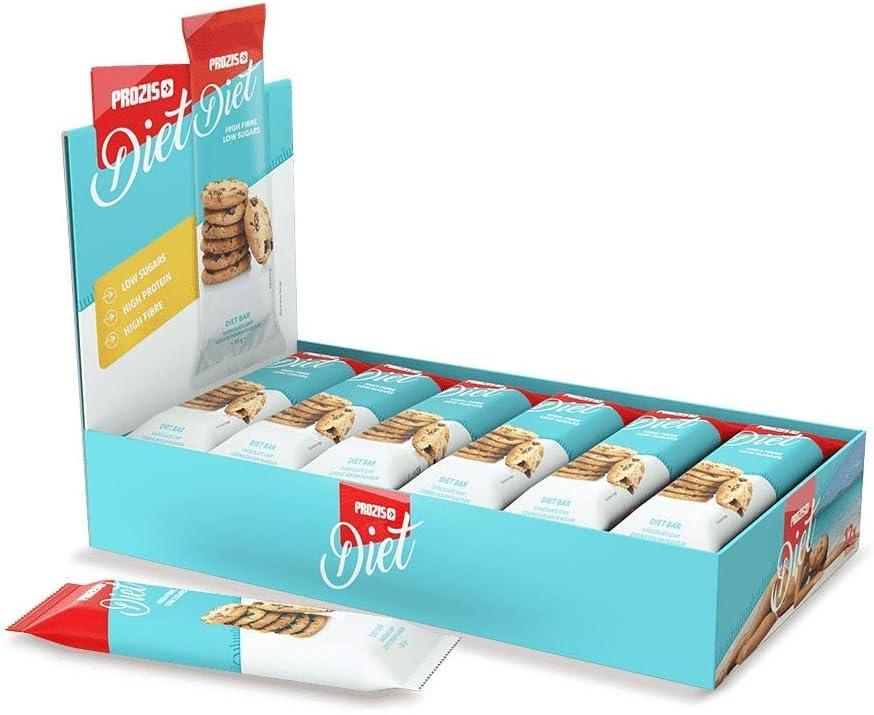 Prozis Diet Bar 12x35g - Delicioso Aperitivo Masa para Galettas - Rico en Proteína y Bajo en Hidratos de Carbono y Azúcares - Ideal para las Dietas de ...