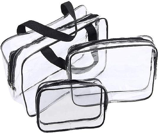 Bolsas de cosmeticos Transparentes Impermeables para Viajes ...