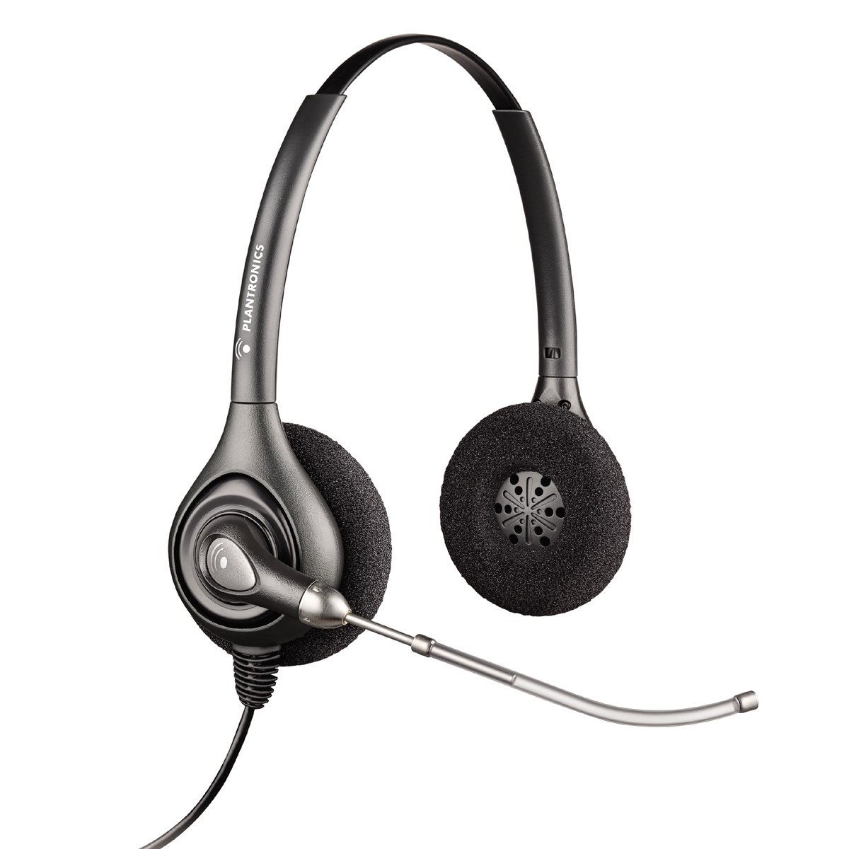 Plantronics HW251 SupraPlus Monaural Over-The-Head Wideband Professional Headset