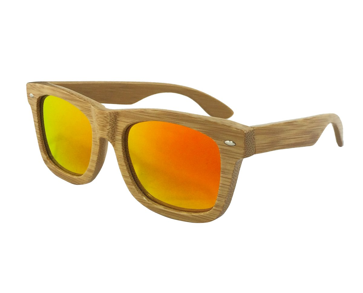 "Tommy D. Eyewear ""Carbonized Bamboo"" Wooden Sunglasses - Bamboo Sunglasses Vintage Wayfare..."