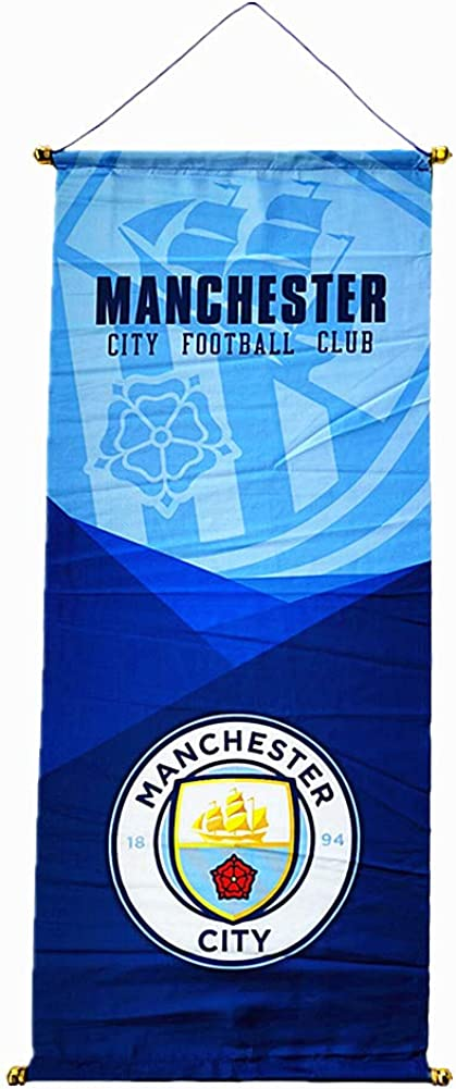 ERSSWUQMY Football Club Flag Banner for Indoor Or Outdoor/ Hanging Flags/ Decoration Hanging Flags