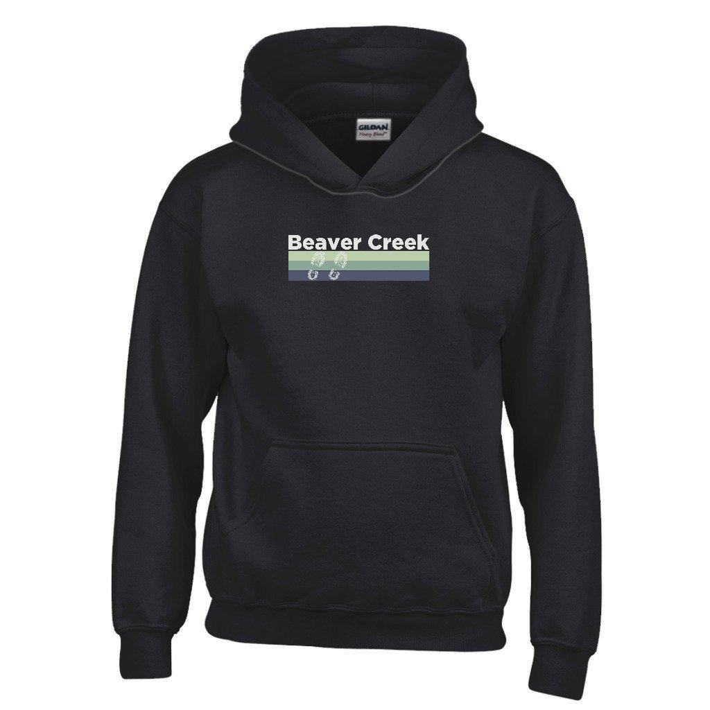 Tenn Street Goods Beaver Creek Retro Hiking Youth Hoodie Colorado Kids Sweatshirt