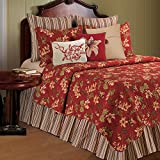 C&F Home Lily Garden Full/Queen Quilt, 90x92 Inches