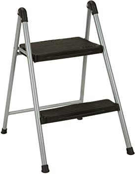 Cosco 2-Step Steel/Resin Folding Step Stool without Handle