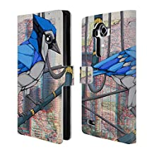 Official Ric Stultz A life Among Wires Birds Leather Book Wallet Case Cover For LG G4 / H815 / H810