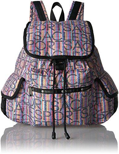 - LeSportsac Classic Voyager Backpack, marker rhythm