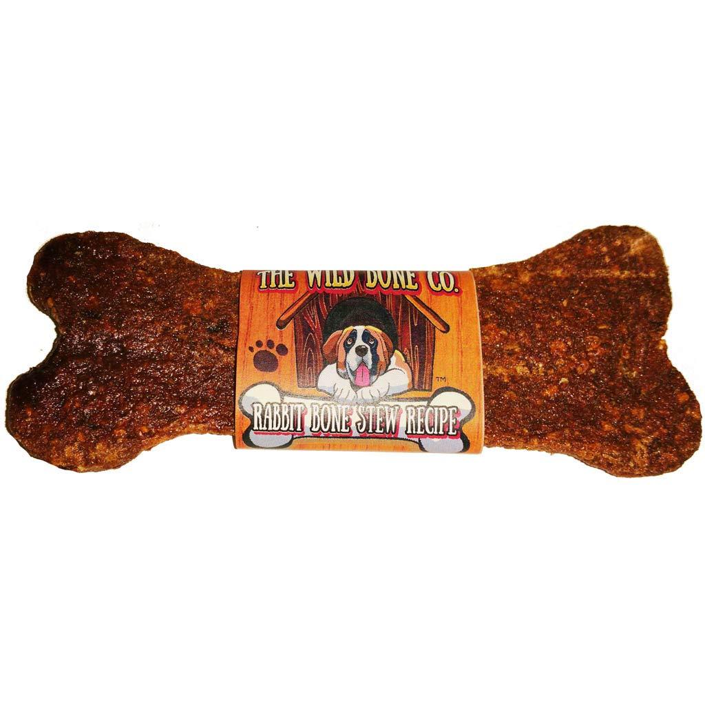 Rabbit Bone Stew Recipe Jerky Style Dog Treat 1 oz 48 Piece