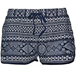 OMONSIM Women Sexy Quick Dry Floral Boardshort Hot Pants Swimming Trunks Tropical Volley Beach Shorts (Large, Color27)