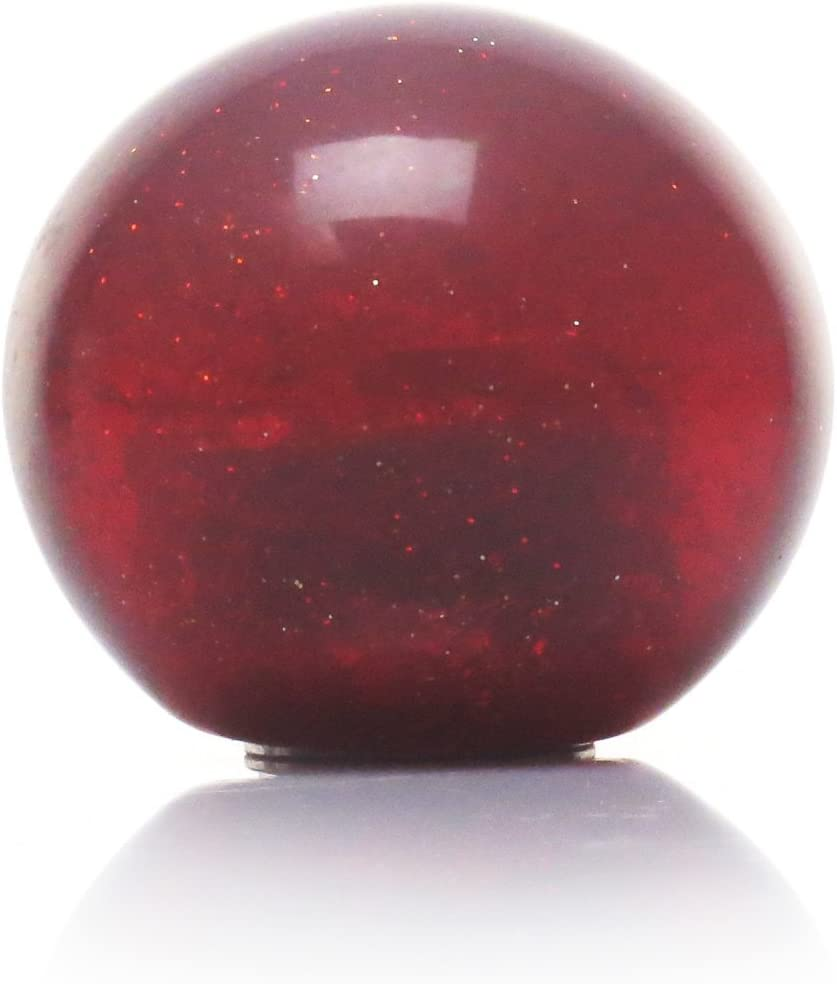 Pink 2 Branches Pointing Up American Shifter 53999 Red Metal Flake Shift Knob with 16mm x 1.5 Insert
