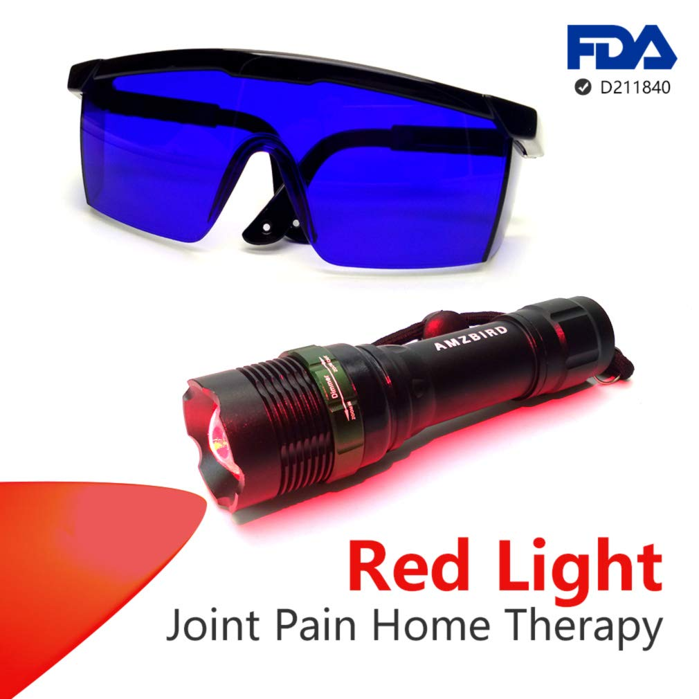 Red Led Light Therapy Device for Reduces Joint Pain, Swelling, and Stiffness, Improve Muscle Recovery During Exercise