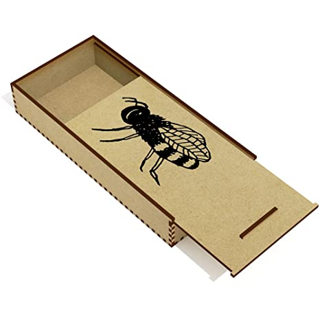 Miel de Abeja Estuche de lápices de Madera (PC00015890 ...