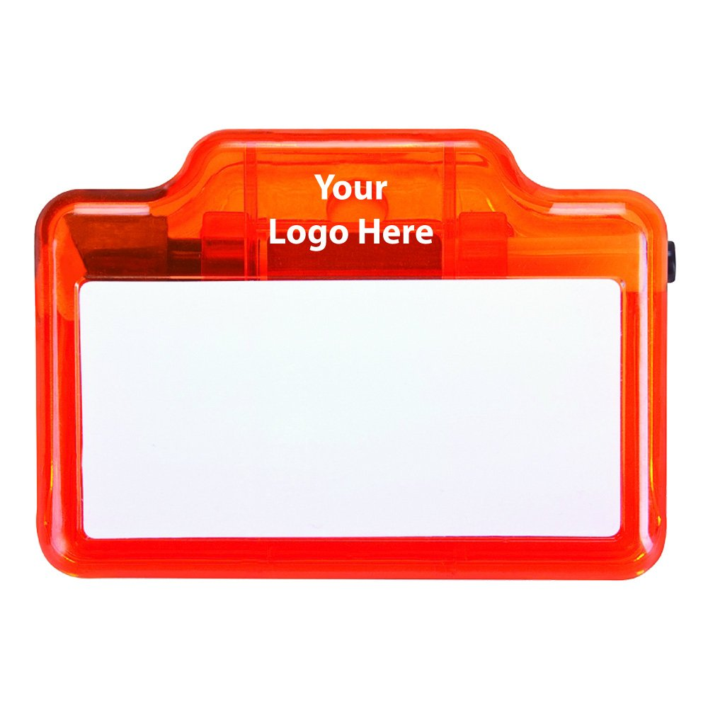 Dry Erase & Memo Clip - 100 Quantity - $2.40 Each - PROMOTIONAL PRODUCT / BULK / BRANDED with YOUR LOGO / CUSTOMIZED