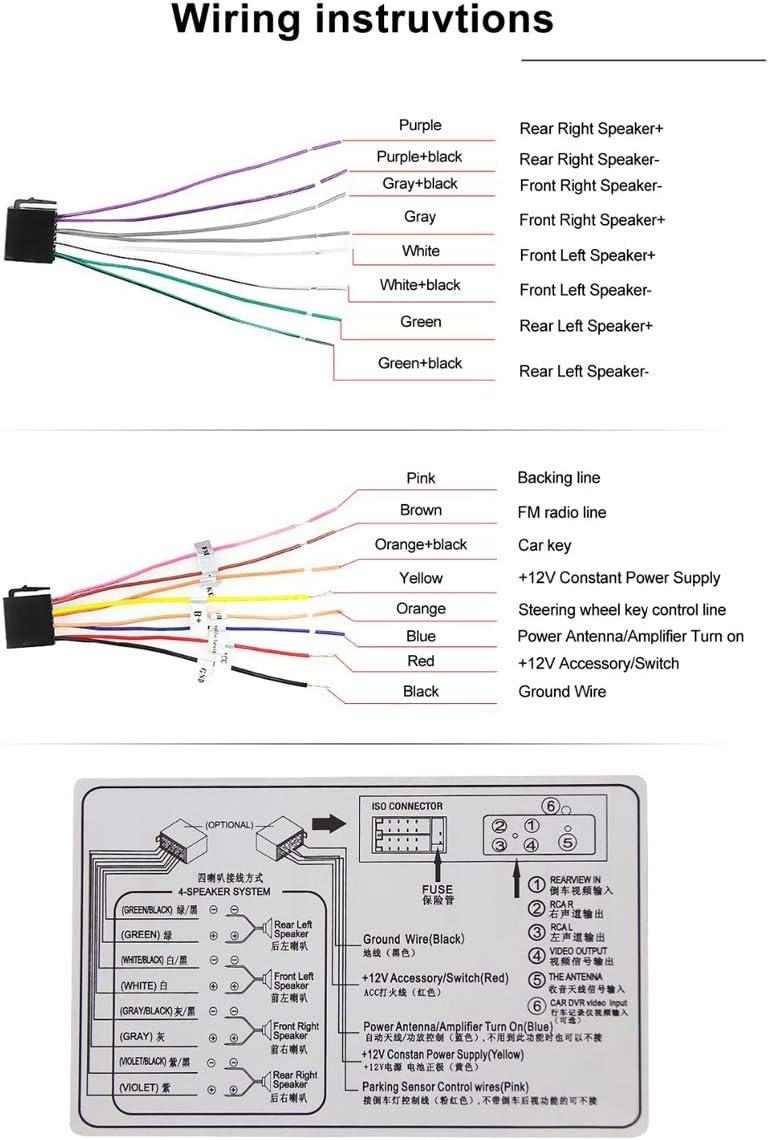 1 Din Ecran Tactile Auto Radio Lecteur Multim/édia Kit Main Libre St/ér/éo Tuner MP5 Mirror Link FM//RDS Aux Input USB TF T/él/écommandes avec Cam/éra de Recul DME4019 YUGUIYUN 4.1 Autoradio Bluetooth