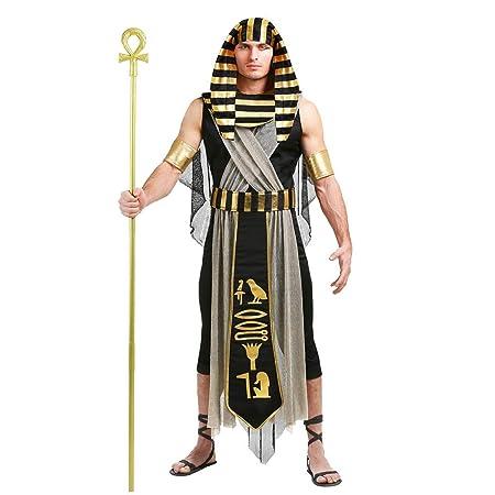 Traje para Mujer Hombre Adulto Faraón Egipcio Cleopatra Disfraz ...