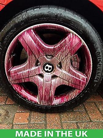 EVEIN Iron Away Bleeding Fallout Remover Car Alloy Wheel Cleaner De-Contaminant (500ml Empty bottle with spray head)