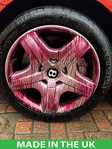 EVEIN Iron Away Bleeding Fallout Remover Car Alloy Wheel Cleaner...