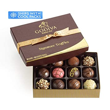 c987cb8c6 Amazon.com   Godiva Chocolatier Signature Chocolate Truffles