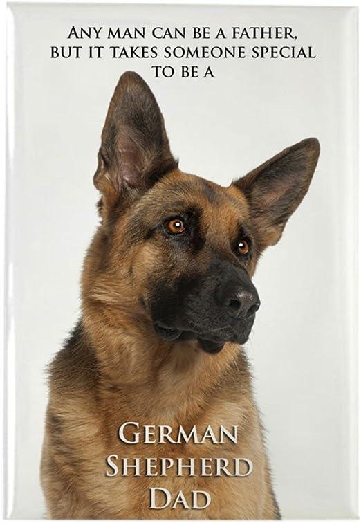 German Shepherd refrigerator magnet