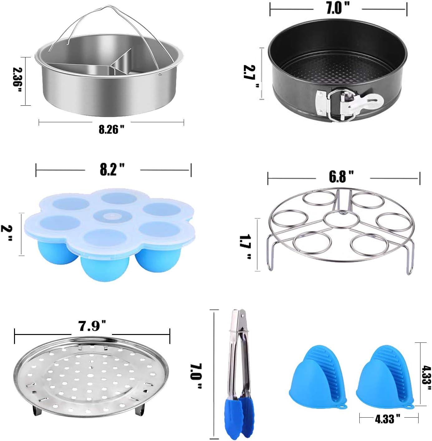 Herdzubeh/örset Kompatibel mit Instant Pot 5,6,8 QT Elektro-Schnellkochtopfzubeh/ör