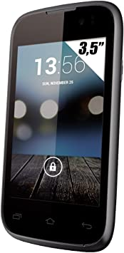 Yezz UPYEA35EIN - Smartphone Libre (Pantalla: 3,5 Pulgadas, 4 GB, Dual SIM, Android 4.2.1 Jelly Bean), Color Negro (Importado): Amazon.es: Electrónica