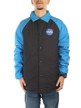 Vans X Nasa Jacket Space Voyager Black Blue Amazon Co Uk
