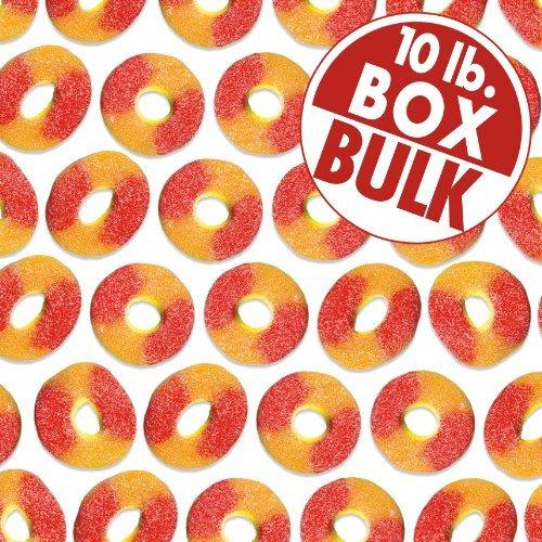 Peach Rings 10 lbs bulk