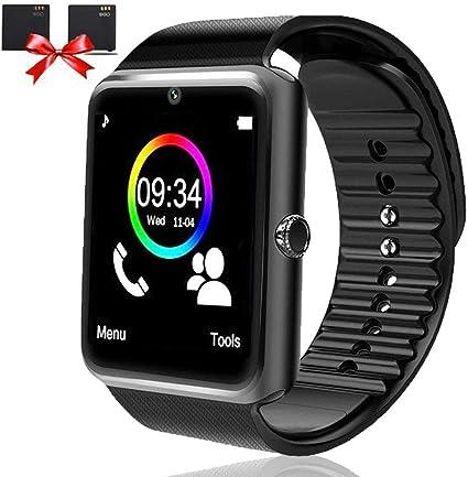 Amazon.com: Reloj inteligente para teléfonos Android con ...