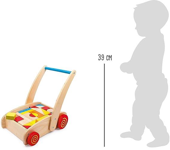Legler - Carrito de Primer Paso Cubos (2695)