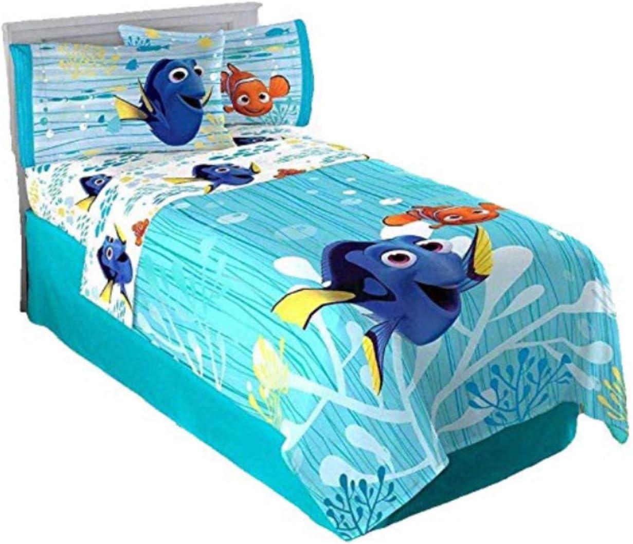 Disney Pixar Finding Dory 3 Piece Twin Sheet Set