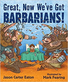 Image result for great, now we've got barbarians