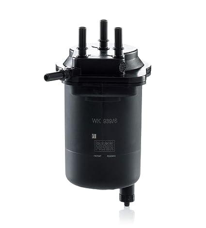 Mann Filter WK 939/6 Filtro para Combustible