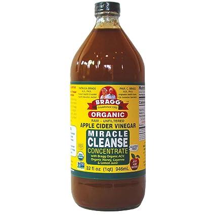 vinagre de sidra de manzana orgánico walmart